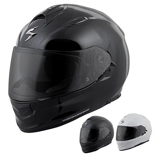 ScorpionExo Unisex-Adult full-face-helmet-style EXO-T510 Helmet (500 Series) (White,Large), 1 Pack - Qualifier Series