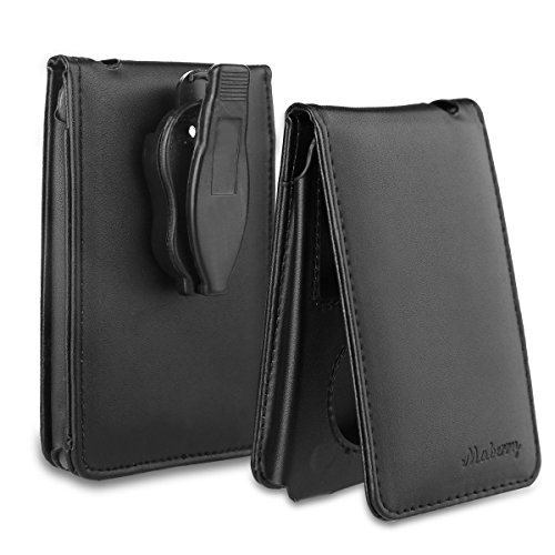 Maberry Leather Case for Apple iPod Classic 80G, 120G and 160GB With Belt Clip
