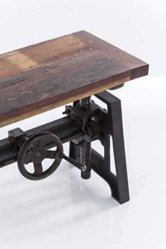 Kare Design Steamboat Econo Tisch, höhenverstellbarer Tisch