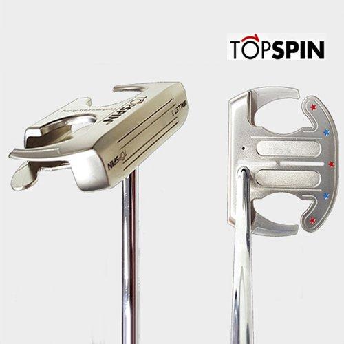 ゴルフパター/TOPSPIN MALLET3/曲面パター(ジェームズミラーのTOPSPINパター) Curved FACE,トップスピン TOPSPIN Putter ゴルフクラブ (33, 右)   B07FP5TBVB