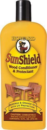 Howard SWAX16 SunShield Outdoor Furniture Wax with UV Protection, 16-Ounce (2-Pack) by Howard