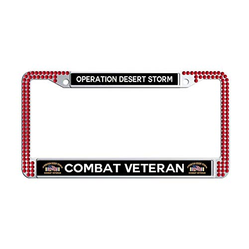 Toanovelty Operation Desert Storm Combat Veteran Glitter Crystal