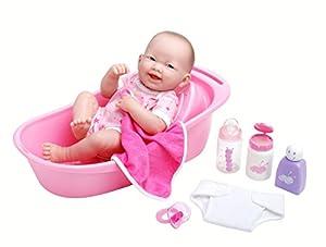 la newborn 8 piece deluxe bathtub gift set featuring 14 li. Black Bedroom Furniture Sets. Home Design Ideas