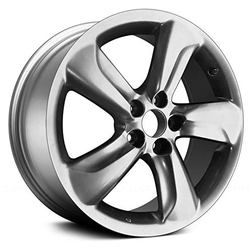Replacement 18X8 Alloy Wheel Medium Smoked Hypersilver Full Face Painted Fits Lexus GS350