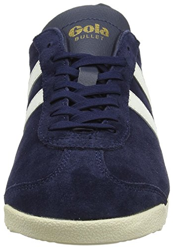 Gola WoMen Bullet Suede Trainers Blue (Navy/Off White)