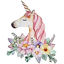 Powerfulline Lovely Unicorn Embroidered Sew Iron On Patch DIY Clothes Bag Fabric Applique