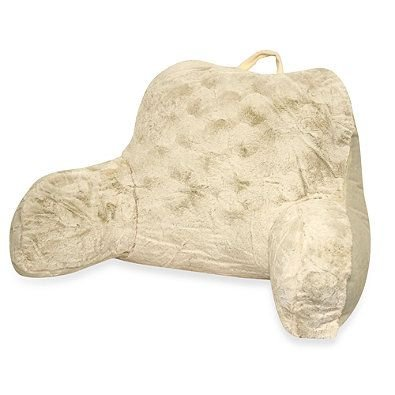 Faux Backrest Pillow Arms Ivory product image
