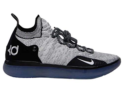 Nike Mens Zoom KD 11 Basketball Shoes, Black/White-racer Blue, (9.5 D(M) US)