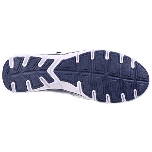 Fleet Sandales Cabernet Foam Foster Femmes amp; Memory Cuir Chaussures Fisherman Marine Bleu 8Sqr8