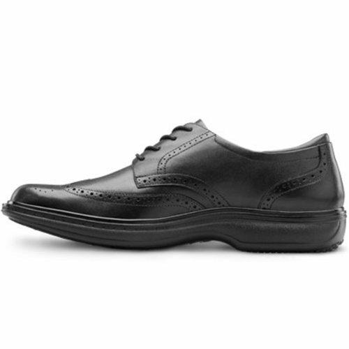 Dr. Comfort Wing Men's Therapeutic Diabetic Extra Depth Dress Shoe: Chestnut 13 Medium (B/D) Lace