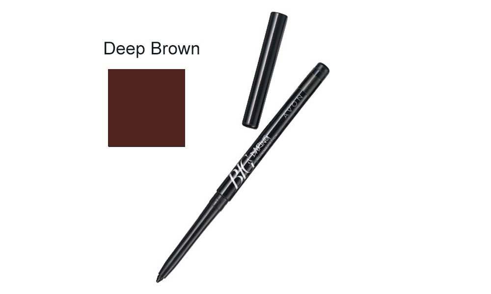 Big & Daring Glimmerstick - Deep Brown Avon