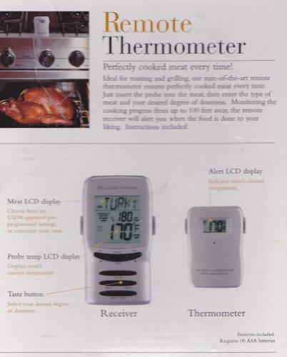 Amazon Williams Sonoma Remote Thermometer Oven Thermometers