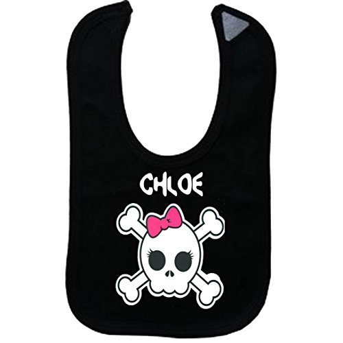 CHLOE - Vintage Skull And Bones - Name-Series - Black Girls (Chloe Bones)