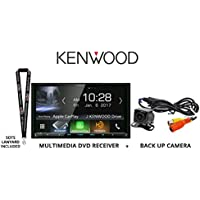 Kenwood Excelon DDX9905S 6.75 HD Screen DVD Receiver with Apple CarPlay and Android Auto with Backup Camera and a SOTS Lanyard