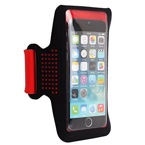 Arms Belt Buckle (Wotmic Rhythm Series Waterproof Sport Gym Running Arm Band Belt Case for iPhone Samsung Galaxy under 5.5in Smartphones)