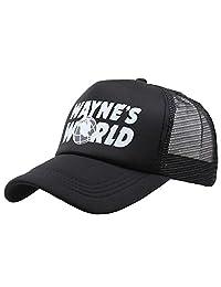 Waynes World Hat Cap Baseball Cap Adjustable Hat Outdoor Sports Wear
