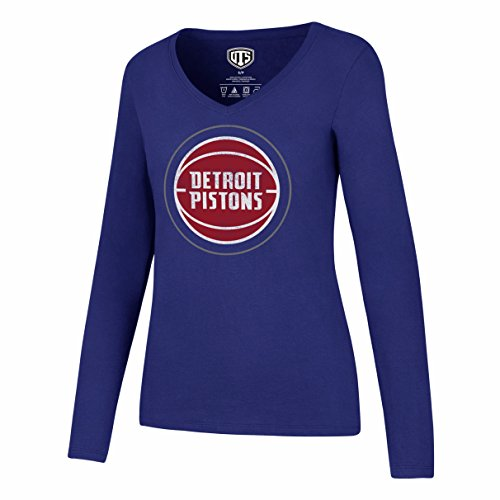 Royal Blue Detroit Pistons T-shirt - 6