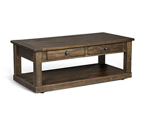 (Sunny Designs Homestead Coffee Table in Tobacco Leaf Finish 3292TL-C )