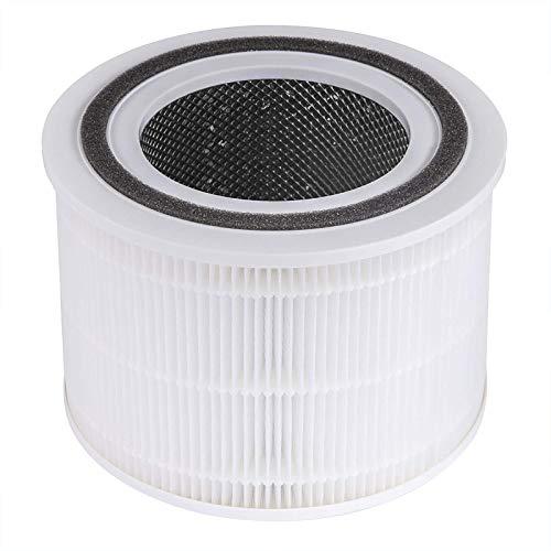 LEVOIT Core 300 Filtro de Repuesto para Purificador de Aire H13, Filtro HEPA 3 en 1, Filtro y Prefiltro de Carbón Activado Altamente Eficiente, Core 300-RF
