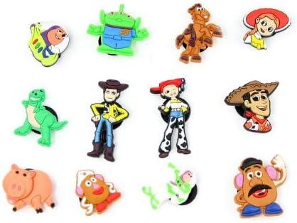 Toy Story 12 Pcs Figures Crocs Shoe