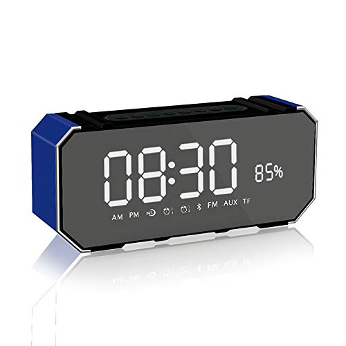 xingganglengyin Wireless Bluetooth Speaker New Mini Portable Alarm Clock Mini Speaker Computer Car Subwoofer by xingganglengyin (Image #1)
