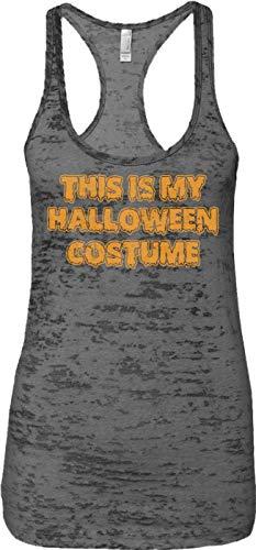 (Blittzen Ladies Tank This is My Halloween Costume - Funny, 2XL,)