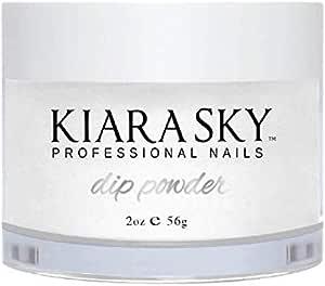 Kiara Sky Dip Powder. Clear Color Long-Lasting and Lightweight Nail Dipping Powder, 2 Ounces