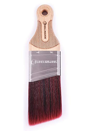 ROLLINGDOG Mini Master 2 inch Paint Brush for Walls, Cutting in, Detail Painting