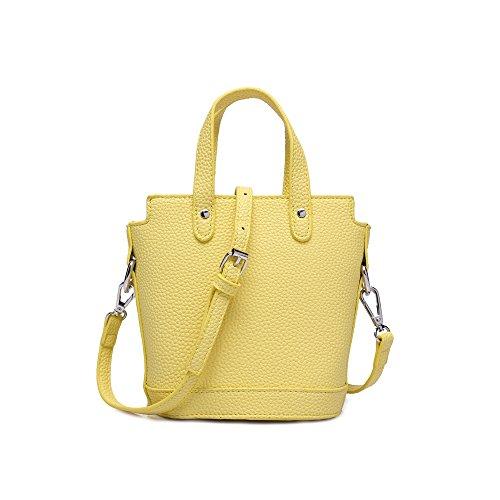 GUFAN - Bolsa Mujer amarillo