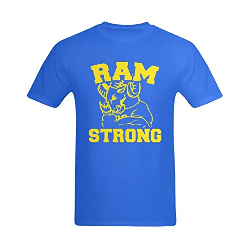 Vecistry Men's Ram Strong T-shirt Size Small ()