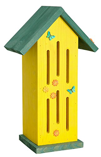 Luxus-Insektenhotels 22111e Gelbes Schmetterlingshaus