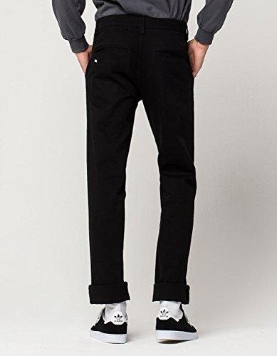 RSQ New York Slim Straight Stretch Chino Pants, Black, 30X32