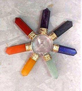 Sammeln & Seltenes Esoterik-, Mystik- & Magie-Sammlerobjekte 3er Pyramiden Pendel Energie Bergkristall