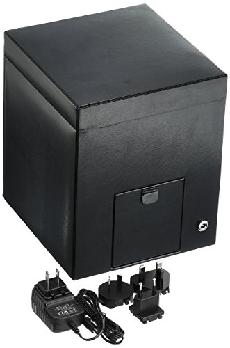 WOLF 270302 Heritage Single Watch Winder with Cover and Storage, Black by WOLF (Image #2)