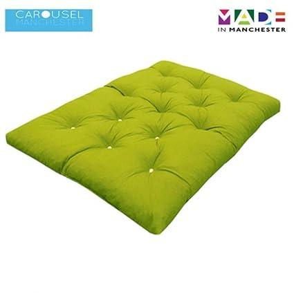 Doble   2 plazas   Espuma de la memoria colchón futón   Rodillo de la cama