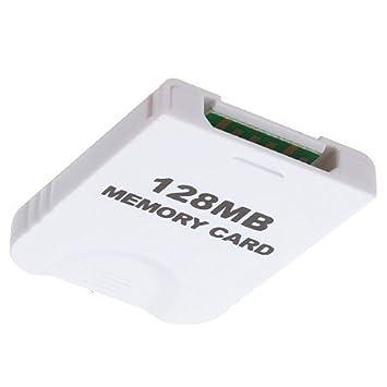 MaxFlash-Tarjeta de memoria para Nintendo WII GAMECUBE 128 MB, 128 MB 2043 Blocks NGC m