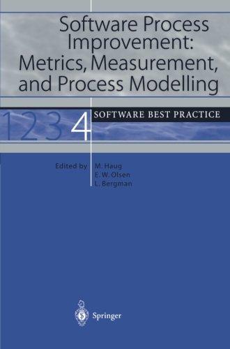 Read Online Software Process Improvement: Metrics, Measurement and Process Modelling pdf epub