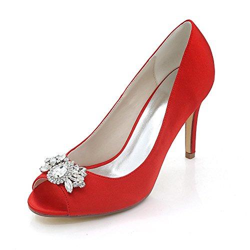 L@YC Damen High Heels / Komfort Sandalen Outdoor / Hochzeit / Büro & Karriere / Kleider Red