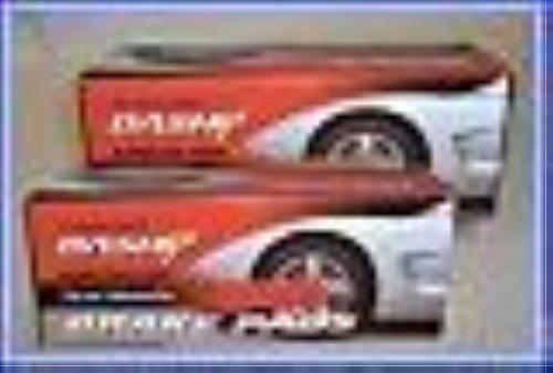 Mac Auto Parts 39906 CORVETTE Front & Rear Brake Pads Corvette Brakes Parts