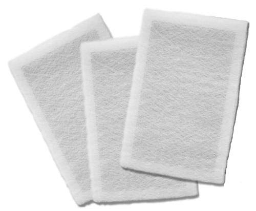 20 x 25 x 1 - Natures Home Micro Power Guard Air Cleaner Replacement Filter Pads, (3) Pack by Dynamic