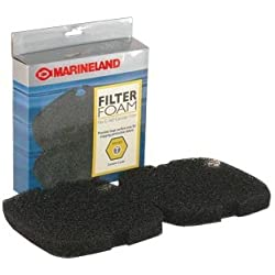 MarineLand PA11481 C-160 & C-220 Canister Filter Foam, 2-Pack