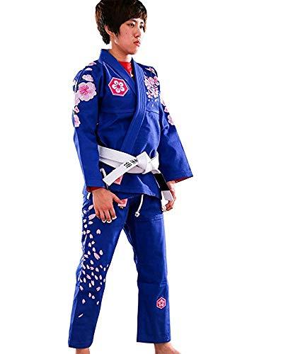A0 Uomo Femmina BJJ GI Kimono Donne BJJ Uniform Scarpette a Strappo Voltaic 3 Velcro Fade Alba da Donna Brazilian Jiu Jitsu Suit Bambini