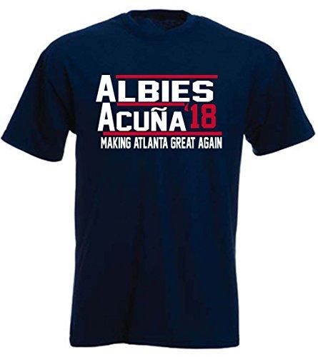 s Acuna Atlanta 18 T-Shirt Adult ()
