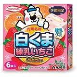 丸永製菓 白くま 練乳いちご 6本入×8箱