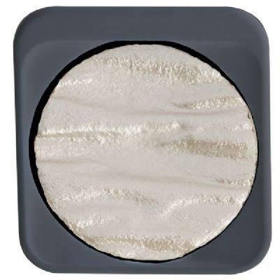 Finetec F1212 Artist Mica Watercolor Pan Refill - Pearl Silver ()