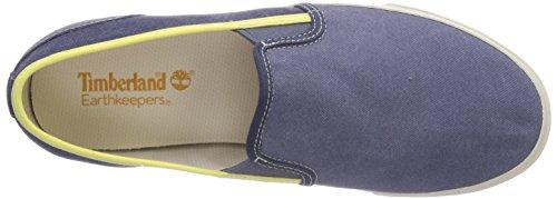 Timberland EK Hookset Camp FTM_Canvas Slip On - Zapatillas para hombre gris - gris