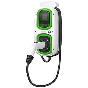Vehículo eléctrico EV tipo 2estación de carga 16Amp/3,6kW homecharging ~ Mercedes ~ BMW ~ Volvo ~ fabricados en el Reino Unido