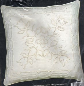 - Candlewick Pillow - Four Tulips - Kit