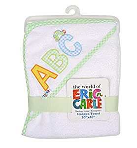 Eric Carle Baby s The Very Hungry Caterpillar Terry Cotton Hooded Towel
