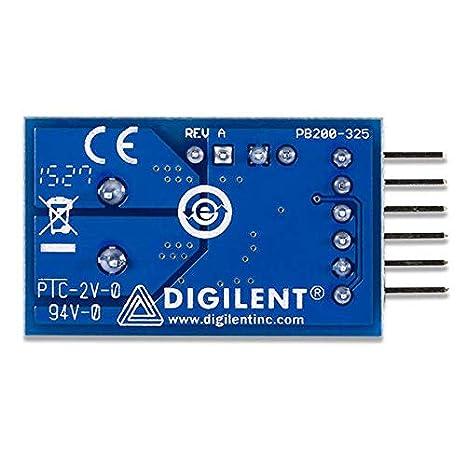 Amazon com: Digilent Pmod ISNS20: 20A Current Sensor
